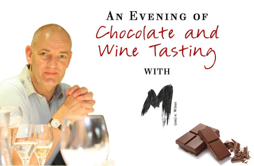 13th May 2015 - An Evening of Wine and Chocolate Matching
